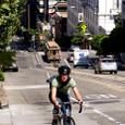 サンフランシスコのサイクル男